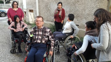 La toute première formation des accompagnateurs au handicap sur Lyon ! – Janvier 2017